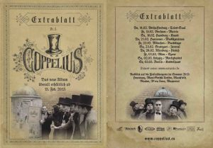 Coppelius 2013 flyer