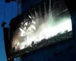 """Lemmy in """"Gutterdämmerung"""" bei der Premiere auf dem Rockavaria. Foto: MaSch"""