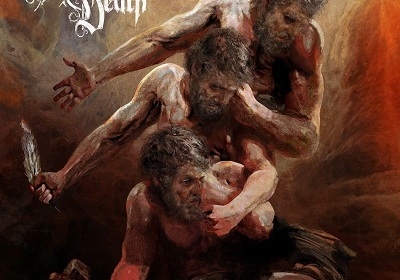Artwork painted by Eliran Kantor (Testament, Iced Earth, Sodom)